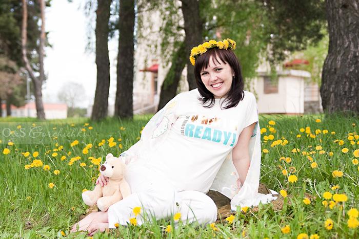 Весенняя фотосессия беременности от гродненского детского фотографа Ольги Горчичко