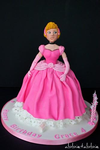Cinderella ....... in pink !