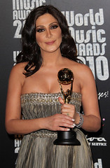 Elissa   World Music Award for the 3rd time for being best-selling artist of the Middle East (Elissa Official Page) Tags: world music for artist time being award east elissa middle 3rd 2012  bestselling  2011