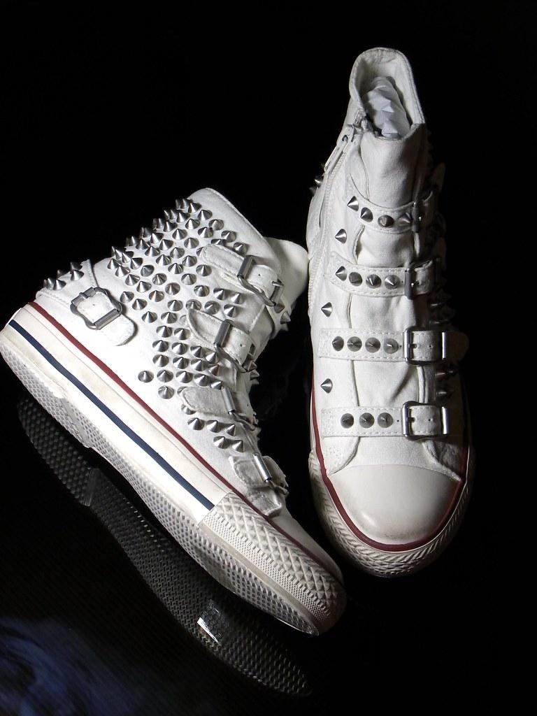 ash sneakers visa go
