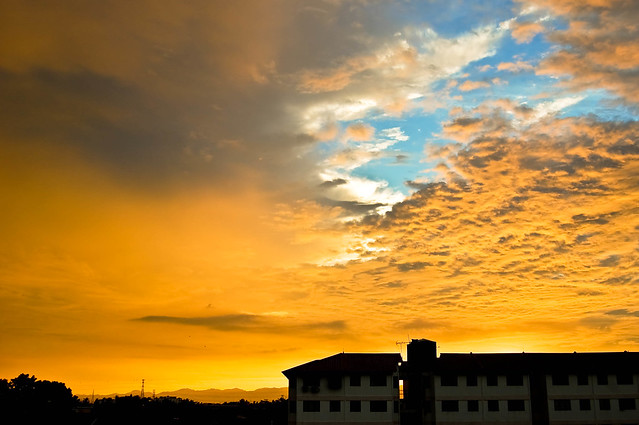 Sunset @ Taman Seri Pauh II
