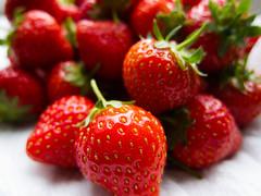 English Strawberries for desert