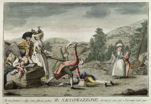 008-La bolsa- Giuochi Trattenimenti e Feste Annue Che si Costumano in Toscana 1790- Giuseppe Piattoli