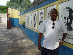 Coach, John Mills Primary Kingston Jamaica (bbcworldservice) Tags: world school girls boys field athletics downtown track stadium assignment champs christopher coke lord kingston national bbc jamaica drug service athletes 2010 dudus