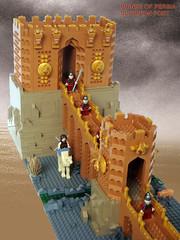 LEGO Prince of Persia MOC Scorpion Fort - Bonus Pic - Alternate High Angle View (dita_svelte) Tags: lego fort prince persia scorpion moc alamut