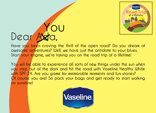 Vaseline Roadtrip of a Lifetime