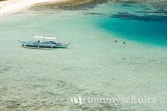 White sand bar of Snake Island near El Nido, Palawan (tommyschultz) Tags: 2009 asia elnido marinemammal palawan palawanbest philippines photooftheday southeastasia