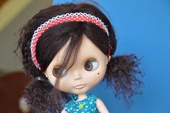 spa day story (Torisaur) Tags: hair curly blythe perm spa curlers boilperm