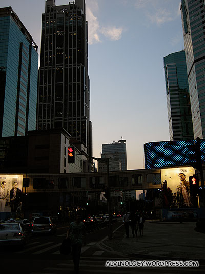 Large tall buildings everywhere