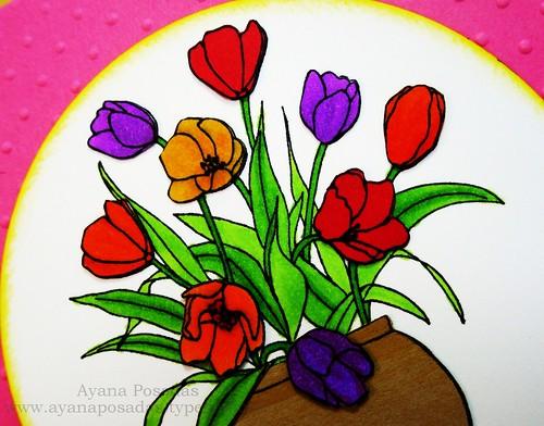 Vase of Tulips (3)