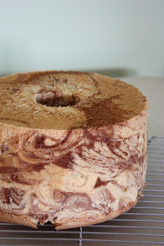 大理石戚風蛋糕