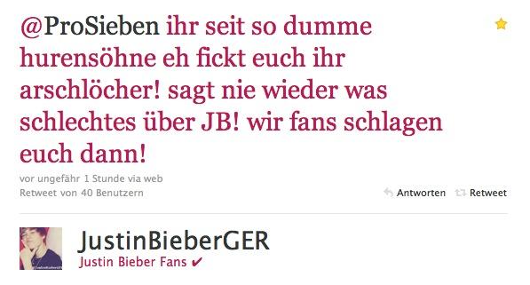 Bieber-Fan 2