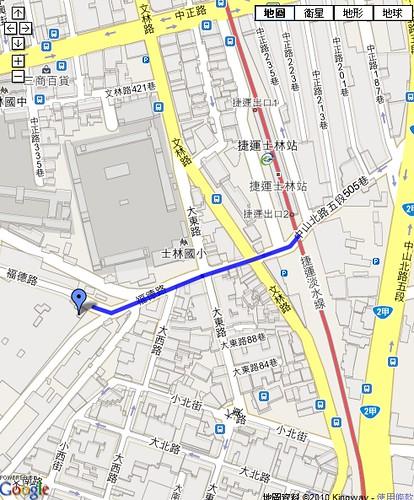 map_士林紙廠