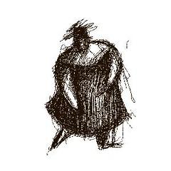 sketch No. 0036 (Valdas M.) Tags: old friends blackandwhite bird love sketch blackwhite noiretblanc silhouettes characters blancinegre digitaldrawing enblancoynegro lifedance inbiancoenero sortoghvid svartochvitt svartoghvitt peopleshadow juodairbalta ernabl mustajavalge beltzaetazuria