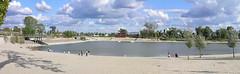 Kopaszi gát - panorama 2 (Romeodesign) Tags: park panorama beach architecture bay hungary dam budapest duna peninsula lágymányos gát kopaszi újbuda öböl gettyhungary1
