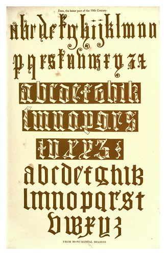 008-Finales del siglo XV-The hand book of mediaeval alphabets and devices (1856)- Henry Shaw