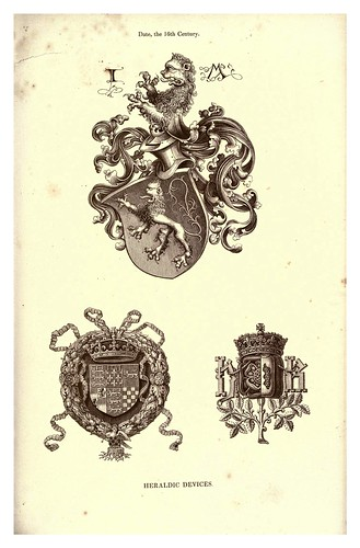 021-Recursos Heraldicos siglo XVI-The hand book of mediaeval alphabets and devices (1856)- Henry Shaw