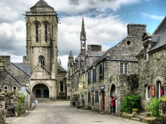 Locronan, magical tiny town in France (OlyaA (busy)) Tags: france brittany bretagne finistere locronan
