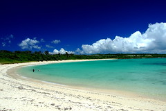 (( _`) Sho) Tags: blue sea summer sky cloud beach japan island paradise  okinawa