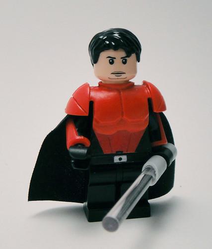 Brickforge Custom LIGHTSABER Weapon for Lego Star Wars Minifigures Gray Hilt