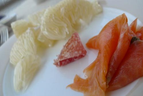 東方文華酒店的自助式早餐