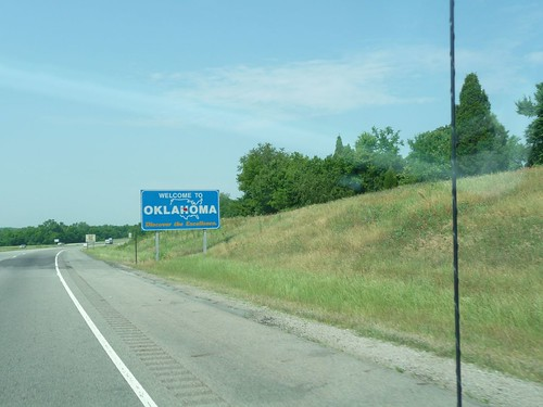 crossing into oklahoma.