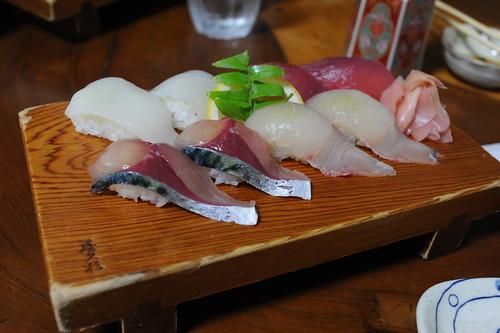地魚の寿司
