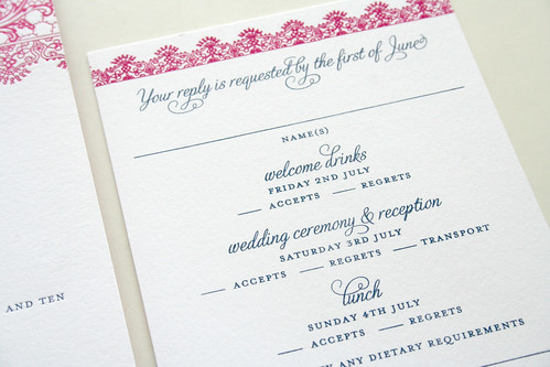 Spanish Lace Wedding Invitation1