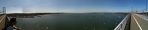 Firth Of Forth Road Bridge Panorama