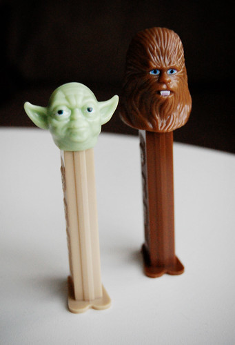 Yoda and Chewie Pez