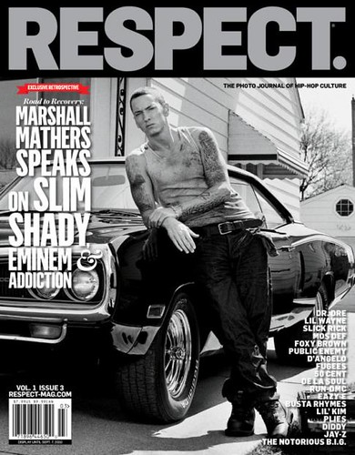 eminem respect magazine cover
