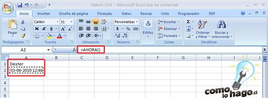 Como Hacer una Macro en Excel