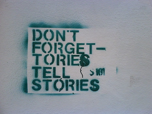 Tories tell stories