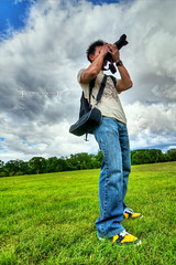 22/52 (Shooter Mag) Tags: camera trees portrait sky grass clouds canon landscape shoes wideangle nike hdr canonxsi