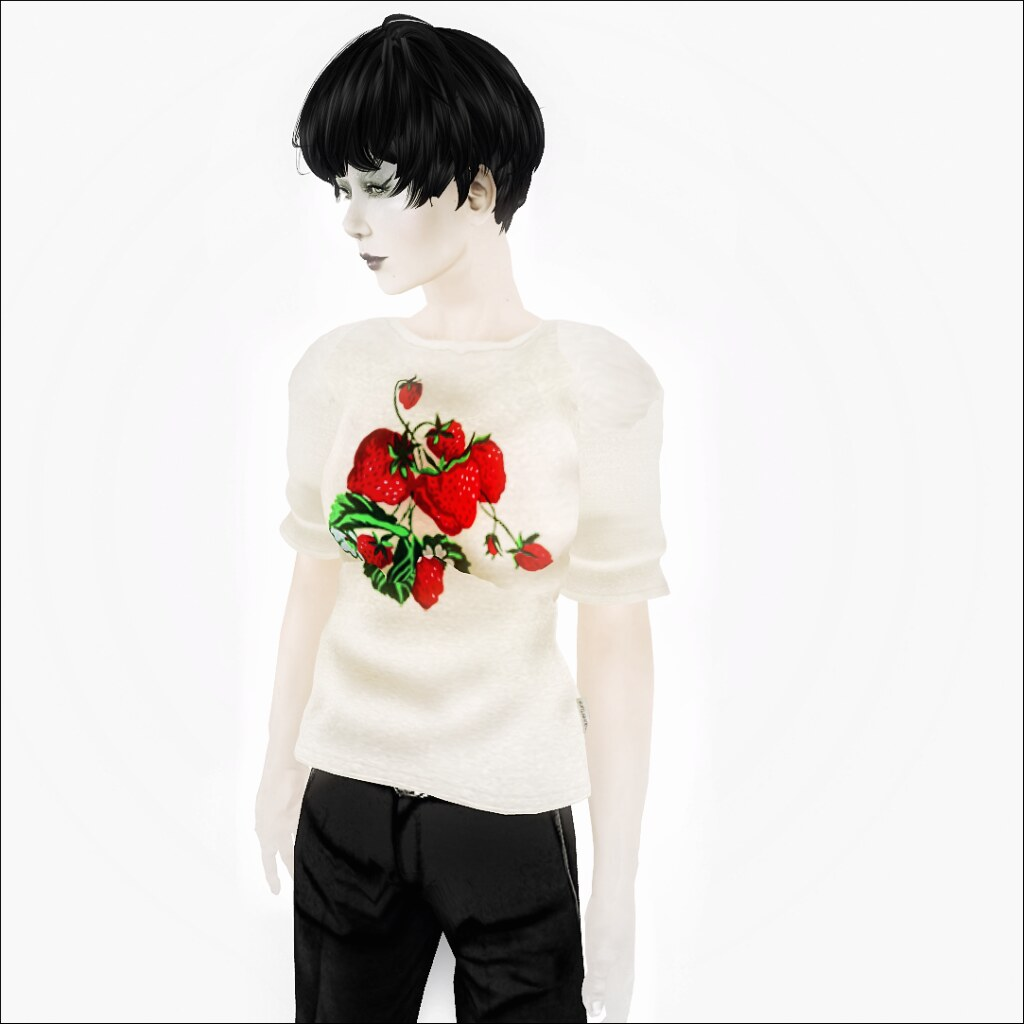 couverture*The Strawberry Tee>White