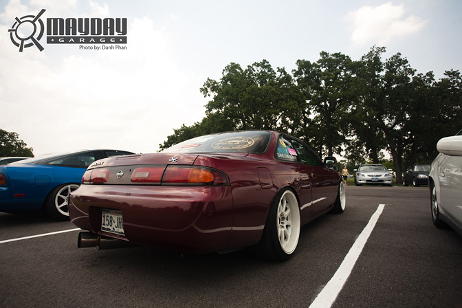 Fitment is definitely not this guys thing....