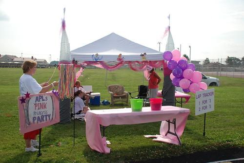 APL's Pink Princess Tent!