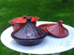 tajine casserole dishes (LesTroisChenes) Tags: france dordogne bedandbreakfast limousin videix casserolescasseroledishesjajinestajinepotschickencasserolechickentajinelestroischenes