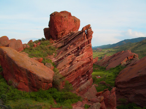 Red Rocks Amphtheater Near Denver, Colorado