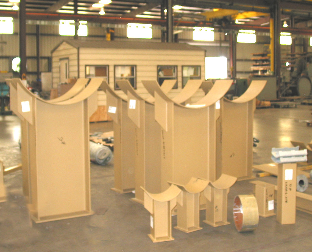 48 Pipe Saddle Supports for a Utility Company