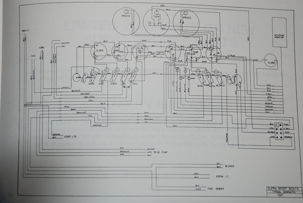 Supra SunSport    Wiring       Diagram