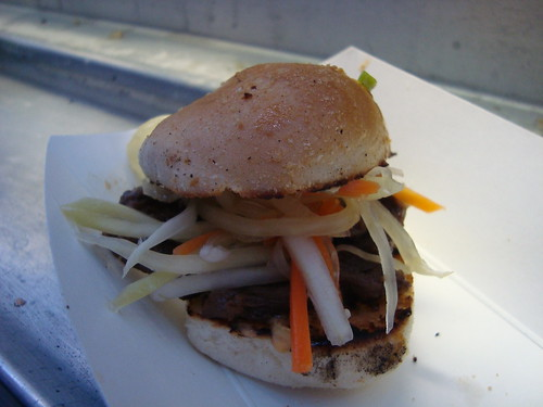 Tapa Pan de Sal Slider @ Manila Machine