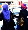 Ladies Who Shop - Liverpool 2010 (ronramstew) Tags: city uk liverpool shopping women hijab lancashire bags churchstreet mersey merseyside