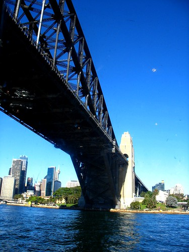 Under the Harbour Bridge