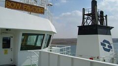 Bow Favour (Gunnar Eide) Tags: ocean sea maritime bow tanker favour odfjell