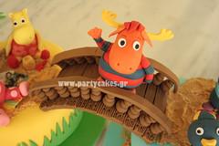 Tyrone (Party Cakes By Samantha) Tags: summer beach cake austin sand surf pablo tasha tyrone backyardigans uniqua