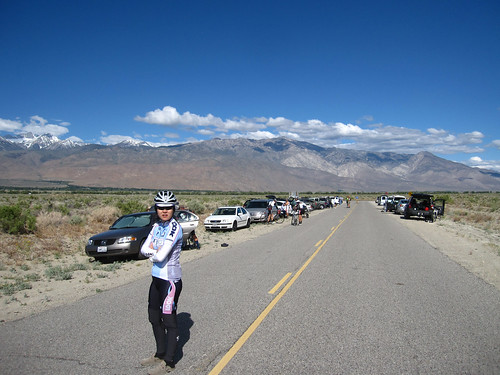"Run into ""Death Valley Rd Stage Race"" folks"