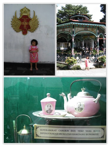 Pink Teapot @ Keraton Yogya