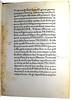 Page of text with annotation from Hermes Trismegistus: De potestate et sapientia Dei