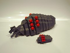 Ohmlette and mother (Ochre Jelly) Tags: japan lego miyazaki nausicaa ohm moc brickcon miyazakitopia